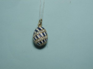 Faberge styled jewellery